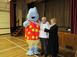 Holyport Community Association Cheque Presentation